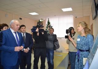 В Хакасии в торжественной обстановке отметили окончание строительства нового здания Национальной библиотеки